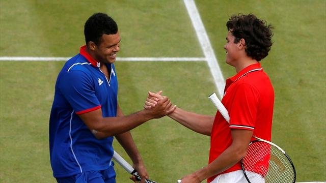 Tsonga through in epic - Tennis - Olympic Games