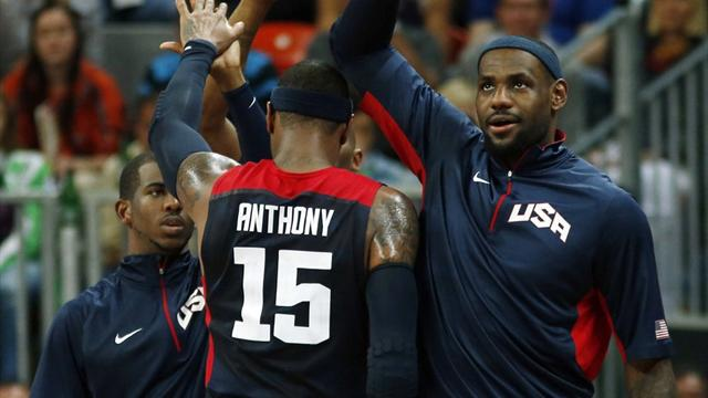 US crush Tunisia in Olympic basketball