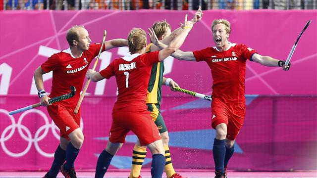 GB men scrape draw - Field Hockey - Olympic Games