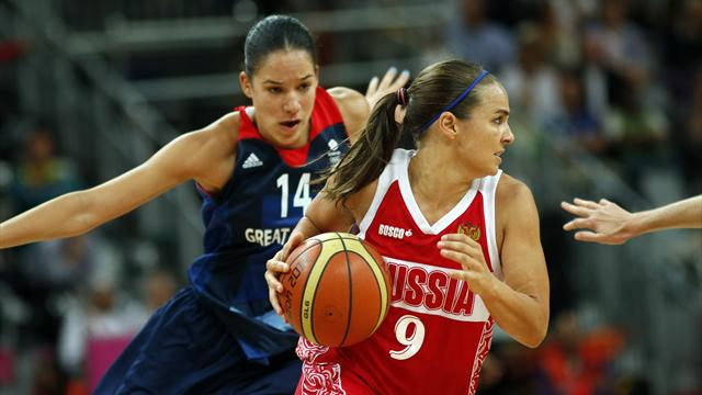 GB basketball women narrowly lose to Russia