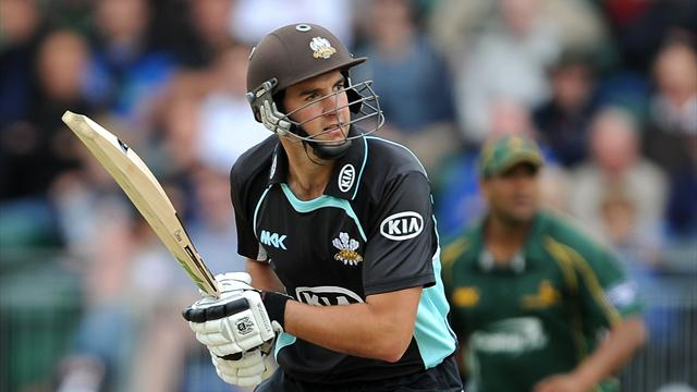 Spriegel fires Surrey top - Cricket - County