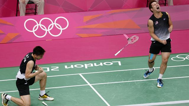 Malaysia, China reach Olympic men's semis