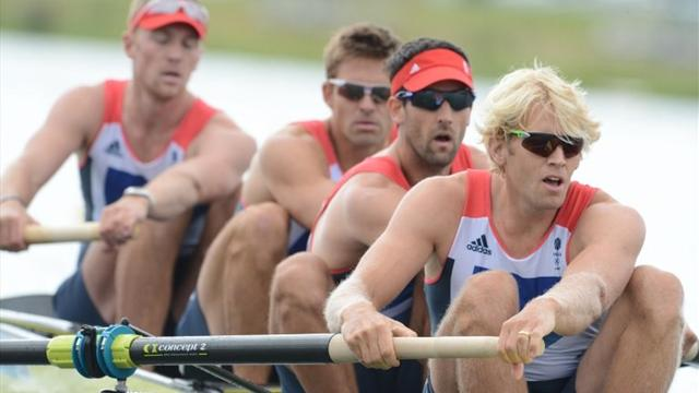 'More to come' from GB men's four