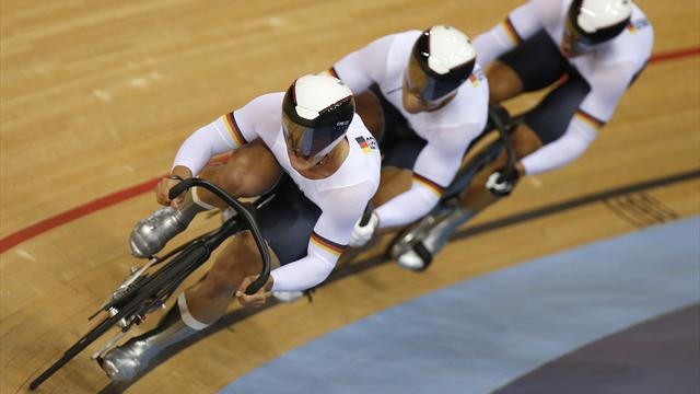Germany win gold - Cycling - Olympic Games