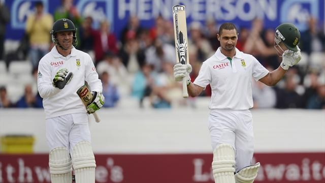 Petersen puts South Africa in control