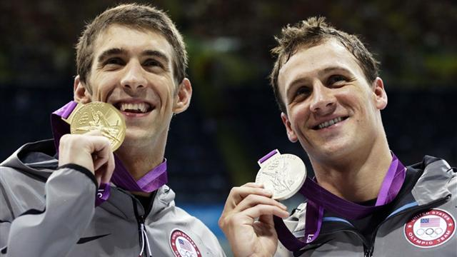 Phelps beats Lochte in 200m IM final