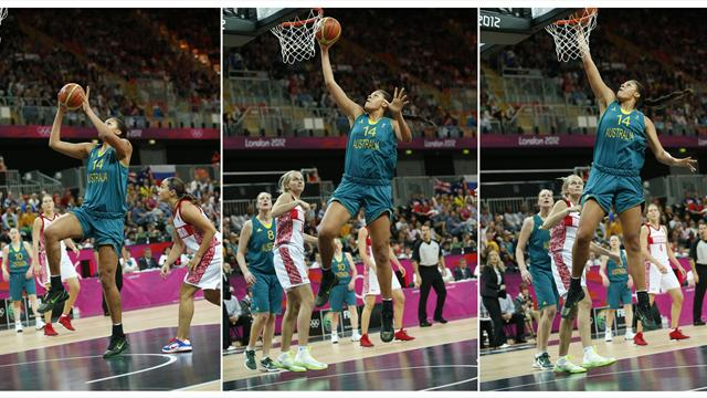 Cambage dunk sees Australia record second Olympic win