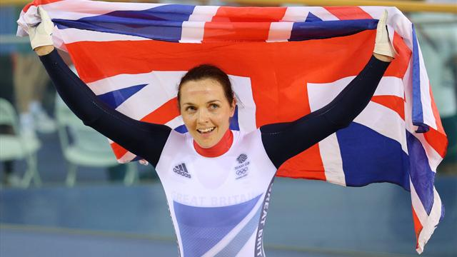 Golden girl Pendleton wins Olympic keirin