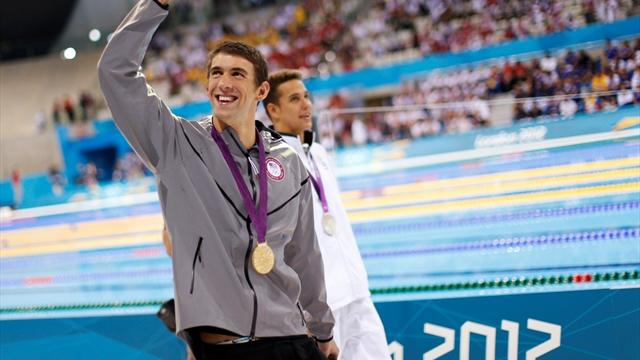 Phelps wins Olympic 100m fly gold in swansong