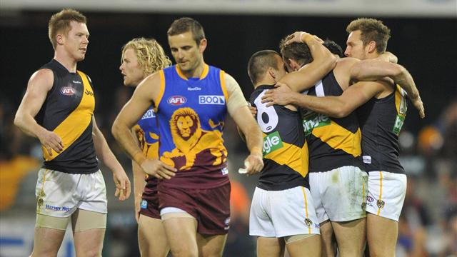 Richmond down Lions - Australian Football