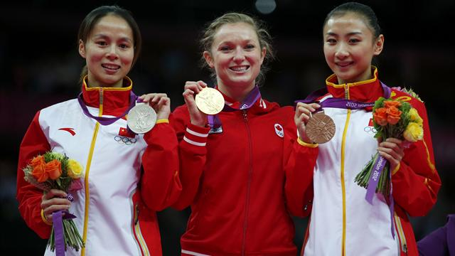MacLennan leaps to Olympic trampoline gold
