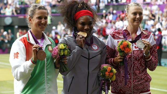 Serena smashes Sharapova for Olympic singles gold