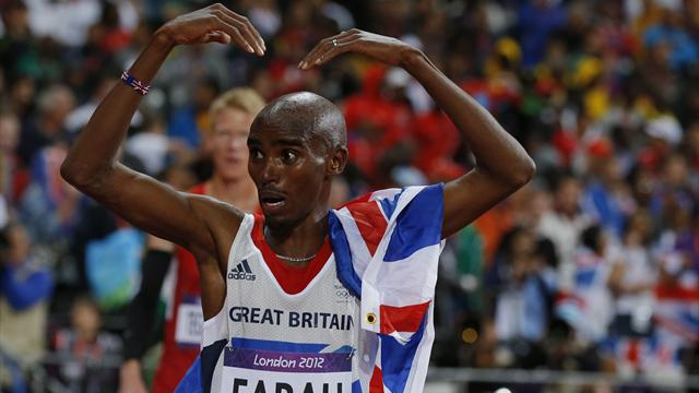 Farah, Rutherford win more Olympic gold for Britain