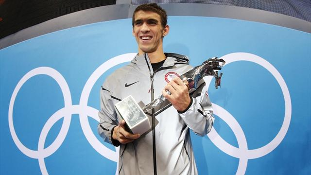 Phelps quits the pool with unchallenged record