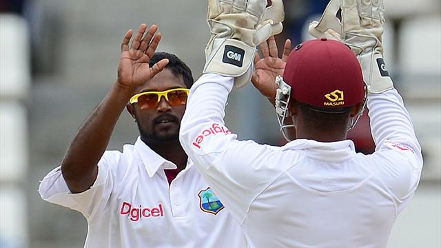 Windies close in on win  - Cricket