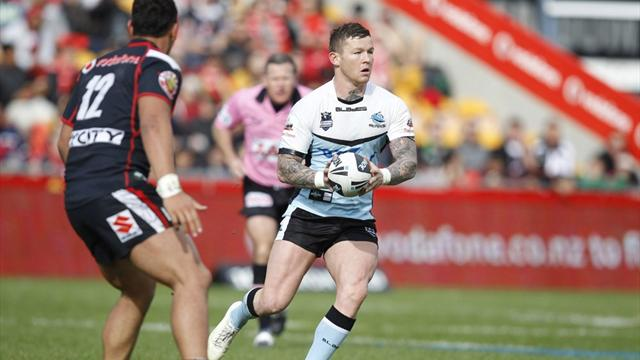 Sharks crush Warriors - Rugby League