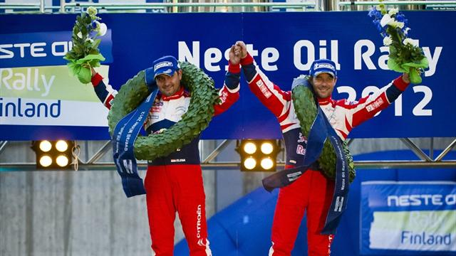 Loeb wins in Finland  - WRC - Finland Rally