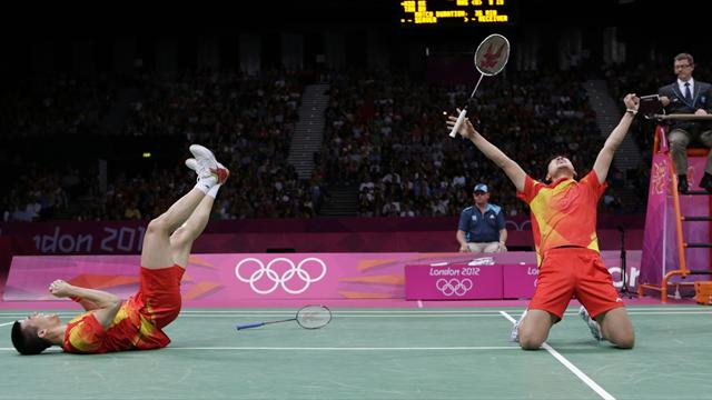 China sweeps Olympic golds after men's doubles win