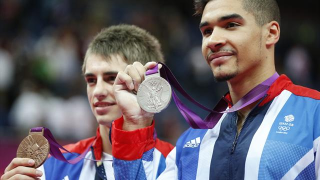 Silver and bronze for Smith and Whitlock in Olympic pommel horse