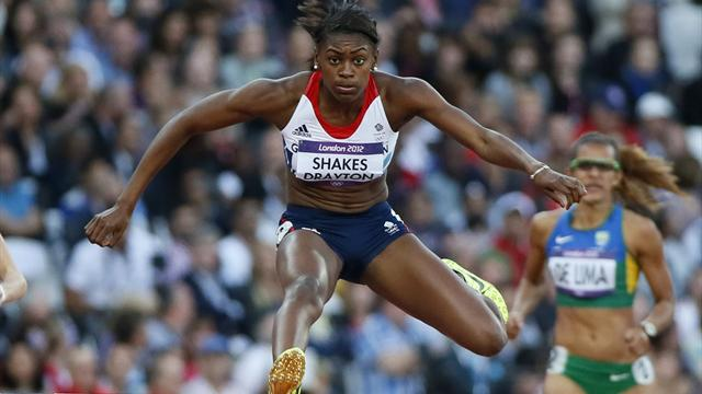 Shakes-Drayton cruises - Athletics - Olympic Games