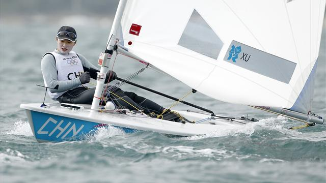 Xu wins Olympic laser gold - Sailing - Olympic Games