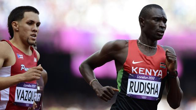 Rudisha eases through Olympic 800m heats