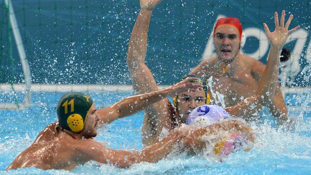 Australia stun Greece in Olympic water polo