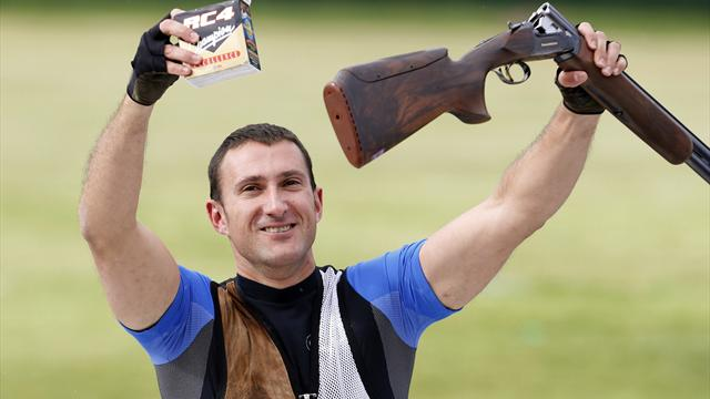 Cernogoraz rounds off Olympic shooting with trap gold
