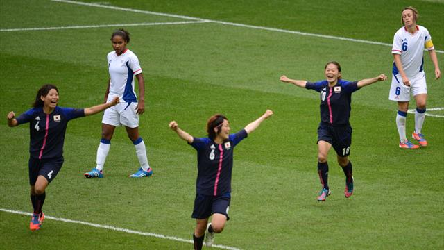 Japan's women into final - Football - Olympic Games