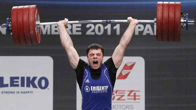 Ukraine's Torokhtiy wins heavyweight gold