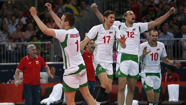 Bulgaria continue to sparkle in Olympic volleyball