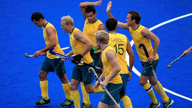 Australia destroy Pakistan to reach Olympic semis