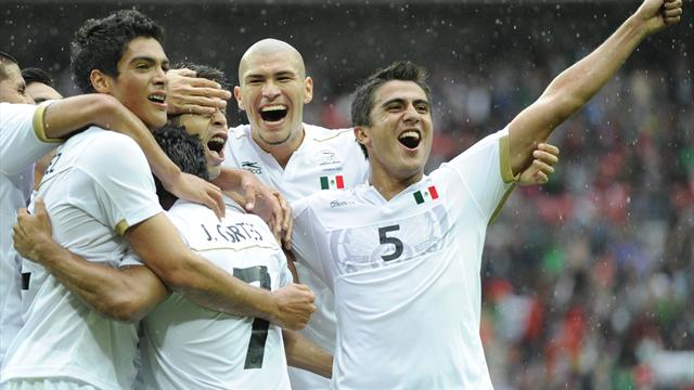 Mexico beat Japan - Football - Olympic Games