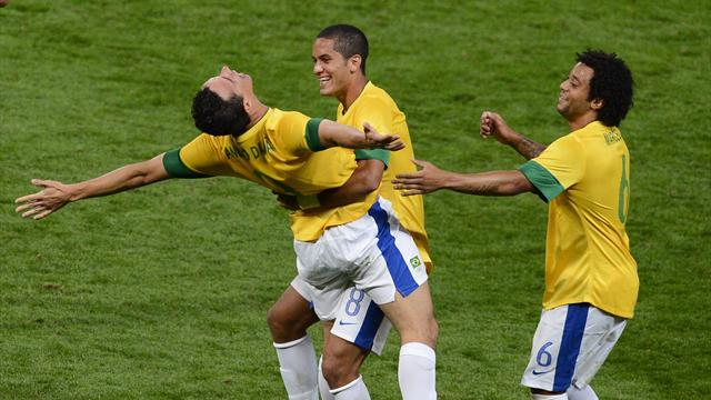 Brazil trounce Korea - Football - Olympic Games