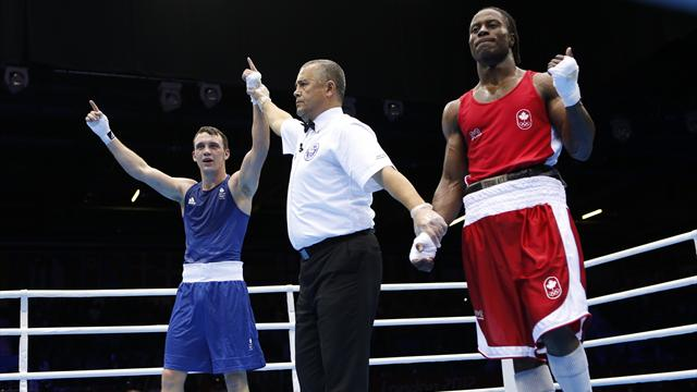 Britain's Evans guarantees Olympic boxing medal