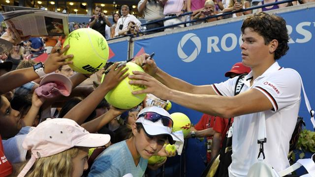 Raonic advances to last 16 at Toronto Masters