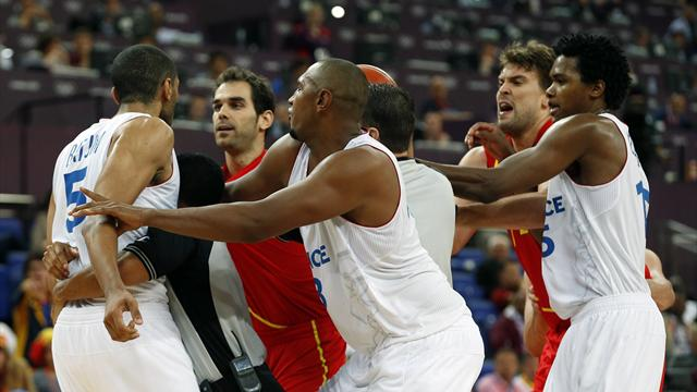 Spain win Olympic quarter-final grudge match against France