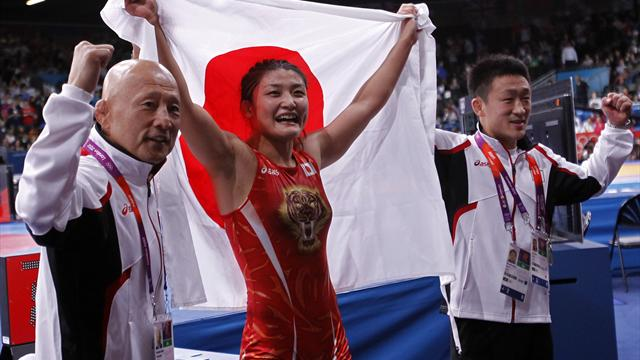 Icho cruises to her third successive Olympic gold