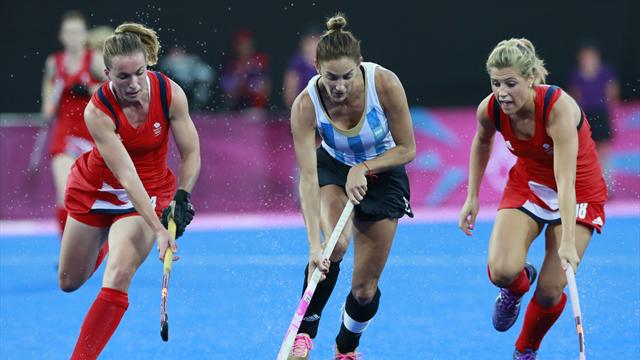Argentina too good for Britain in Olympic hockey semis