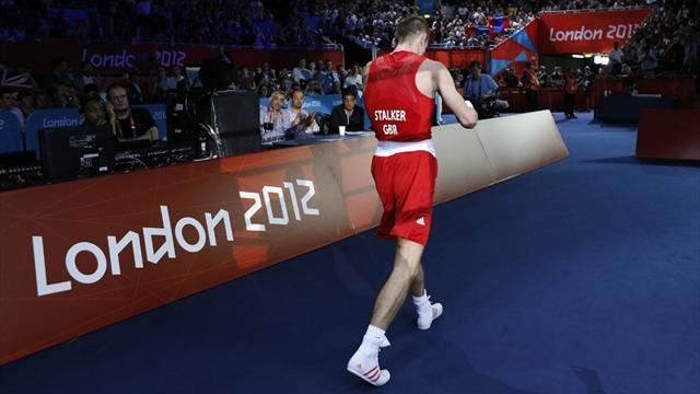 Stalker exits Olympic boxing competition