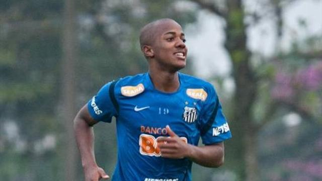 Andrade scores for Santos - Football - World Football