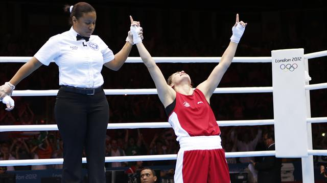 Taylor delights Ireland with Olympic boxing gold