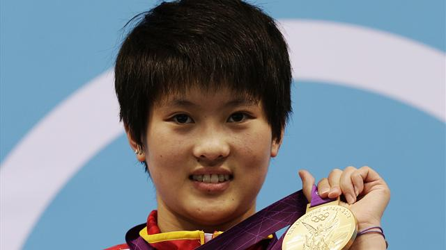 Chinese athletes rewarded - Olympic Games - London 2012