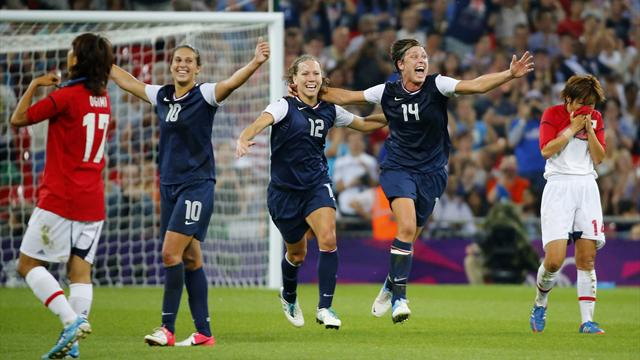 US win gold number three - Football - Olympic Games