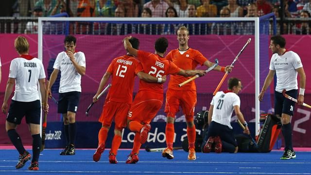 GB mauled by Dutch - Field Hockey - Olympic Games