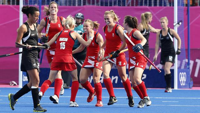 Britain's women beat Kiwis to Olympic hockey bronze