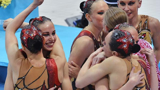 Russia claim fourth sweep - Synchro Swimming - Olympic Games