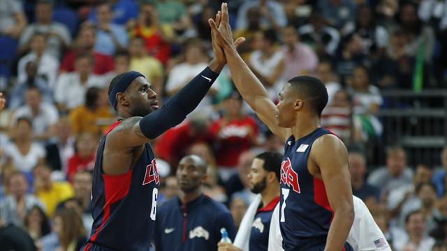 US set up dream Olympic final with Spain