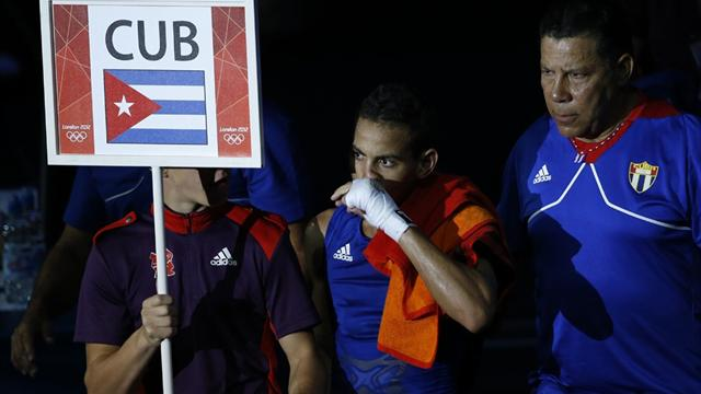Cuban dances into boxing final