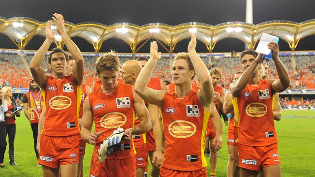 Suns grab first home win - Australian Football